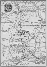 Ohio Railroad Map by The Kansas City Southern Railway