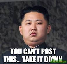 Meme Down - you can t post this take it down meme custom 18186
