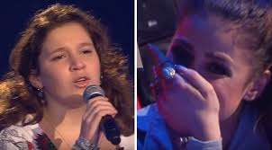Blind Italian Singer Time To Say Goodbye She Sings U0027time To Say Goodbye U0027 A Song The Judge U0027s Mom Sang To