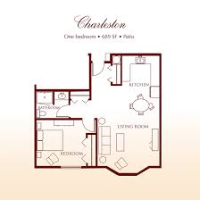 Charleston Floor Plan by Charleston Suite Detray U0027s Colonial Inn
