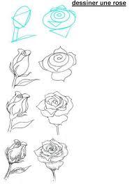 to draw roses wolves pinterest dessin dessiner et