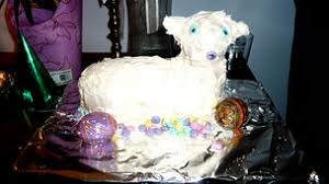 Easter Lamb Cake Decorating Ideas by How To Make A Lamb Cake 15 Steps With Pictures Wikihow