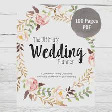 wedding planning guide wedding binder cover template beautiful printable wedding planner