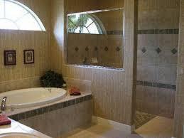 bathroom designs with walk in shower doorless walk shower design features open window homes