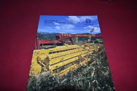 new holland 1475 mower conditioner haybine dealer u0027s brochure dcpa2
