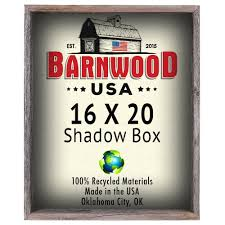 amazon com barnwoodusa rustic 16 by 20 inch picture frame