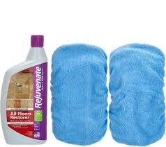 Laminate Floor Restorer Rejuvenate 32oz Floor Restorer W 2 Microfiber Mop Applicators