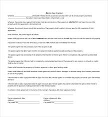 Sample Actuarial Resume by Sample Lease Agreement 9 Free Documents In Pdf