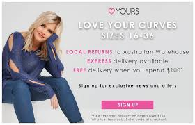 australian plus size womens clothing store yours clothing