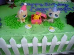 littlest pet shop birthday cake decorating youtube