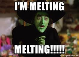 Witch Meme - i m melting melting wicked witch wizard of oz meme generator
