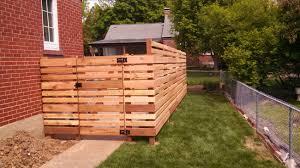best horizontal fence ideas backyard fences pictures designs 2017