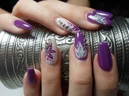 purple nail design simply simple with chosen purple nail