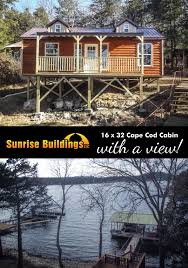 deluxe cabins sunrise buildings