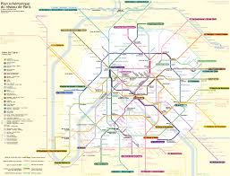 France Cities Map by Paris France Metasub