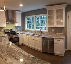Kitchen Cabinets Marietta Ga by Traditional Kitchen With High Ceiling U0026 Complex Marble In Marietta