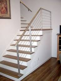 Metal Stair Rails And Banisters Linear Stair Spindles Modern Google Search Nancy Pinterest