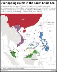 Map Of The South Map Shows South China Sea Claims Business Insider