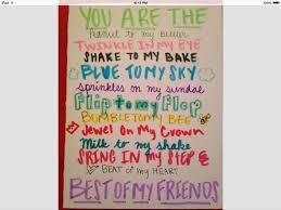 birthday card for best friend best friend card crafts pinterest diys and craft
