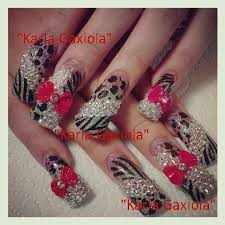 76 best bejeweled nails images on pinterest bling nail art and