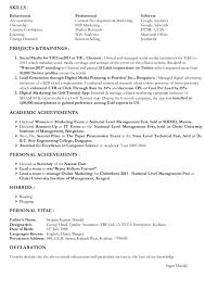 Sample Marketing Resumes by Marketing Skills Resume Sales And Marketing Skills Resume Sample