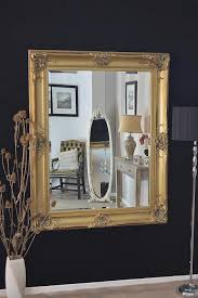 Accessories For Home Decoration Living Room Gold Framed Wall Mirror Doherty House How To