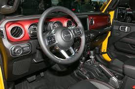 jeep hardtop interior 2018 jeep wrangler front interior drivers side motor trend
