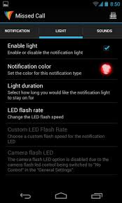 notification settings android put your android phone s notification led to use with light flow