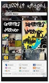 graffiti generator creator make graffiti more easily graffiti