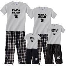 papa family mathing pajamas me