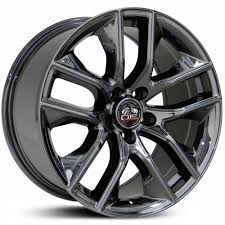 Black Rims For Mustang Fits Ford Replica Oem Factory Stock Wheels U0026 Rims
