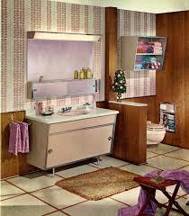satin glide steel bathroom vanities 1963 retro renovation