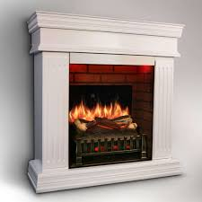magikflame electric fireplace matte white finish