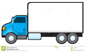 blue delivery truck royalty free stock images image 20656339