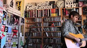 Npr Small Desk Ben Gibbard Npr Tiny Desk Concert