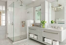 Grey Bathroom Cabinets Cool And Sophisticated Designs For Gray Bathrooms Throughout