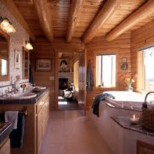 celebrate the romance of a log home or cabin this winter real