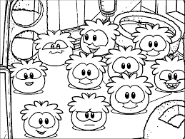 coloring pages of club penguin club penguin puffle free coloring pages on art coloring pages