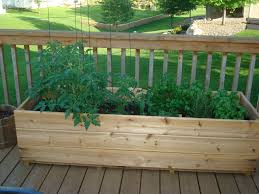 deck vegetable garden radnor decoration