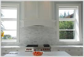 marble subway tile backsplash kitchen tiles home decorating