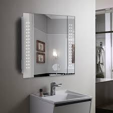 bathroom mirror storage bathroom mirror with shelf and light lighting cabinets lights uk