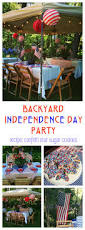 happy independence day backyard party and recipe confetti star