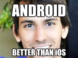 why are iphones better than androids what android is better than ios says stammy computerworld