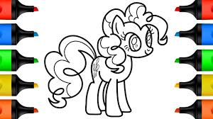 how to draw mlp coloring pages for baby my little pony drawing