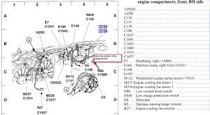 2002 mercury sable coolant warning light came on intermittently