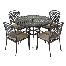 Round Garden Table With Lazy Susan by Garden Furniture Sets Charlies Direct