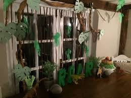 Jungle Backdrop Dinosaur Birthday Party Backdrop Image Inspiration Of Cake And