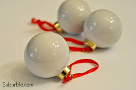 how to make gold dipped ornaments suburble