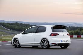black volkswagen gti vw golf gti clubsport 2016 the most powerful gti yet by car