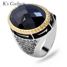 big vintage rings images 2018 k 39 s gadgets oval black stone rings big vintage rings for jpg